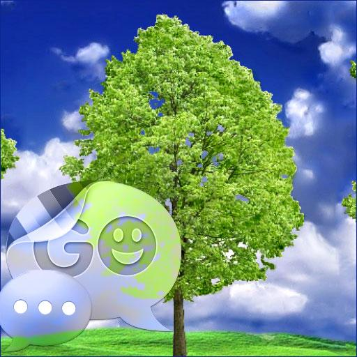 GO SMS PRO Theme Tree Buy LOGO-APP點子