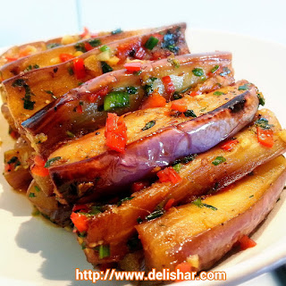 Stir-fried Brinjal/Eggplant
