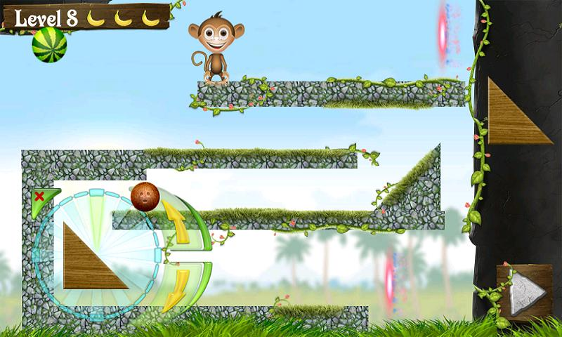 Feed the Monkey lite - screenshot