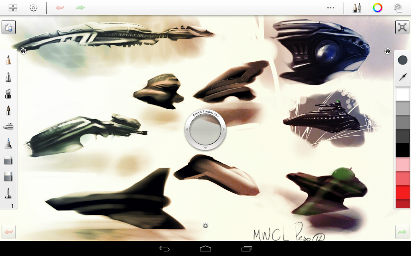 SketchBook Pro - screenshot