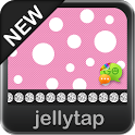 Beautiful Pink Polka Dot Theme icon