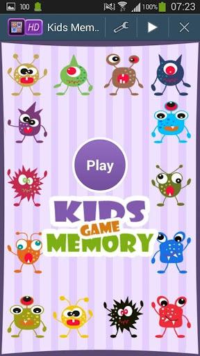 Aliens Memory Game For Kids
