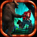 Danger Runner 3D Bear Dash icon