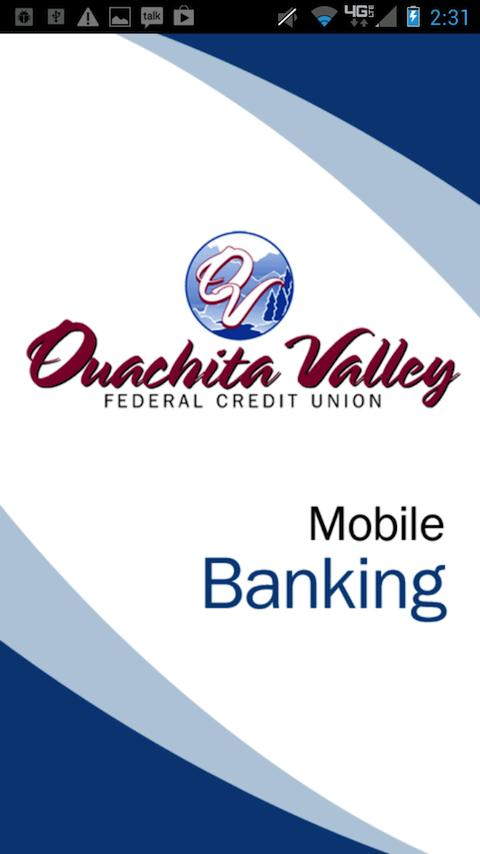 Ouachita Valley FCU - screenshot