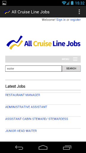 All Cruise Line Jobs