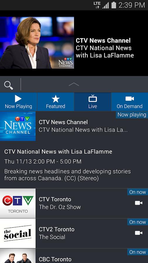 Bell TV - screenshot