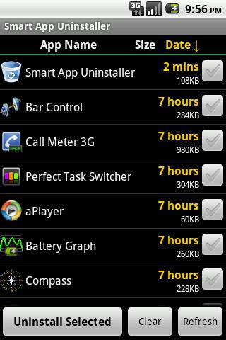 Smart App Uninstaller - screenshot