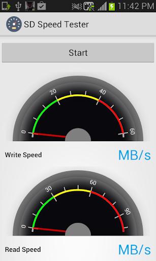 【免費生產應用App】SD Speed Tester-APP點子