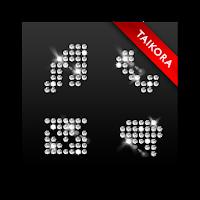 BlackBling GoLauncher EX Theme 0.5