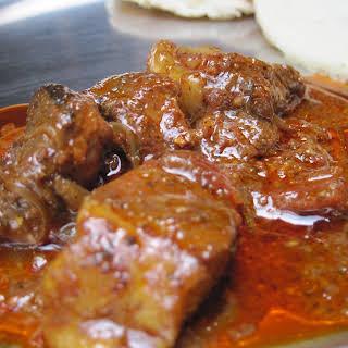 Pork Vindaloo.