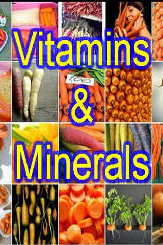 Vitamins and Minerals Guide