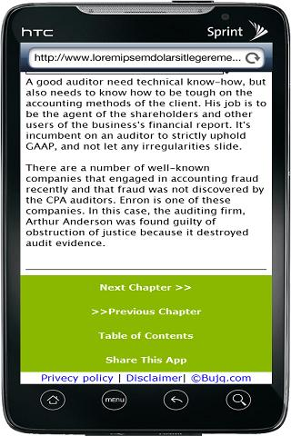Accounting Careers - 2013 - screenshot