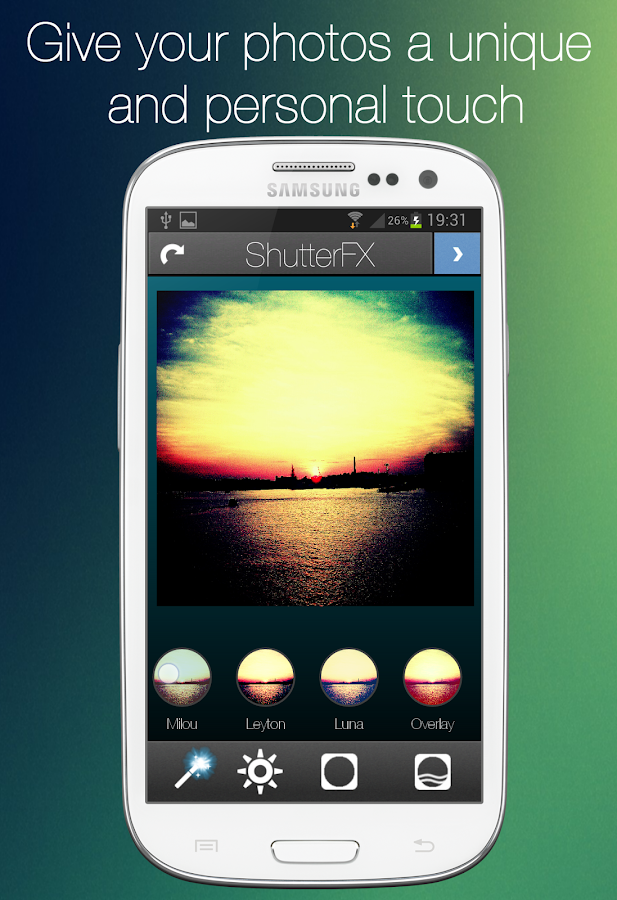 ShutterFX - screenshot