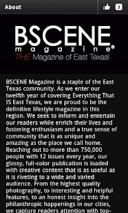 BSCENE Magazine - screenshot thumbnail