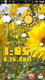 Weather Flow ! Live Wallpaper Screenshot 16