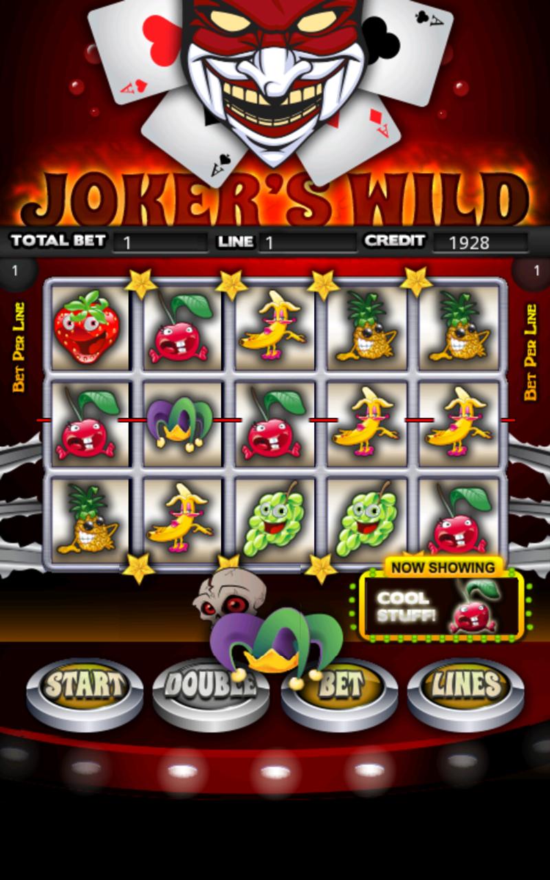 Jokers Wild Slot Machine HD screenshot #5