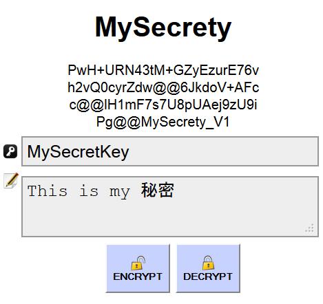 MySecretYOne