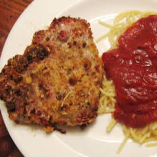 Italian Style Pork Chops.