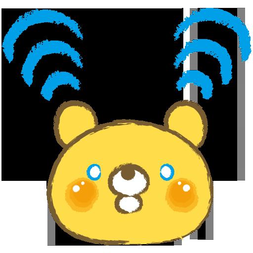ウィジェットスイッチ(wifiくま)