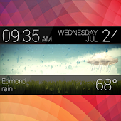 Weather Clock Skin - UCCW
