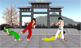 Screenshot of Final Karate Demo