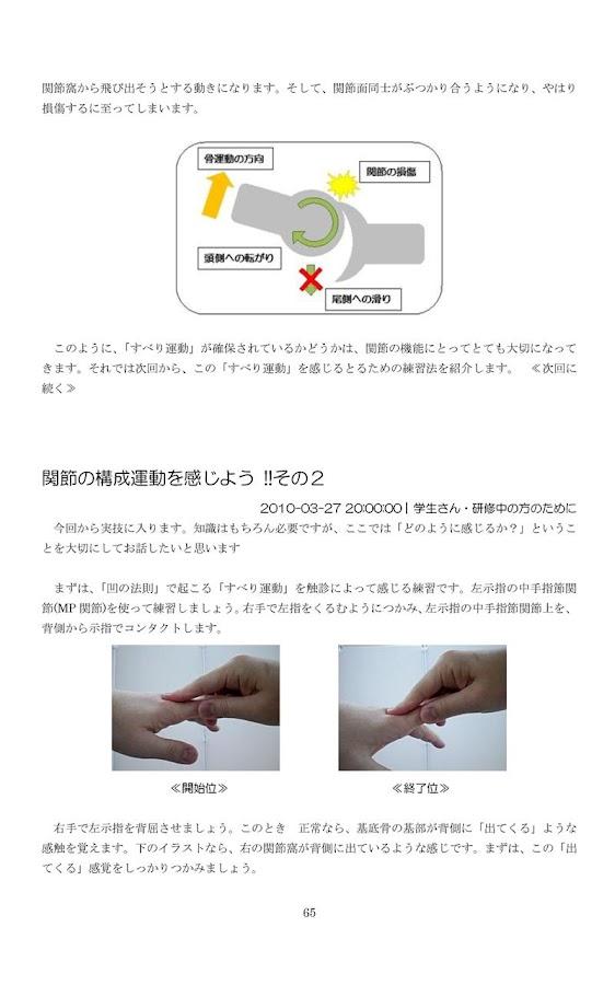 手技療法を習得するために~触診と治療のコツとヒント~- screenshot