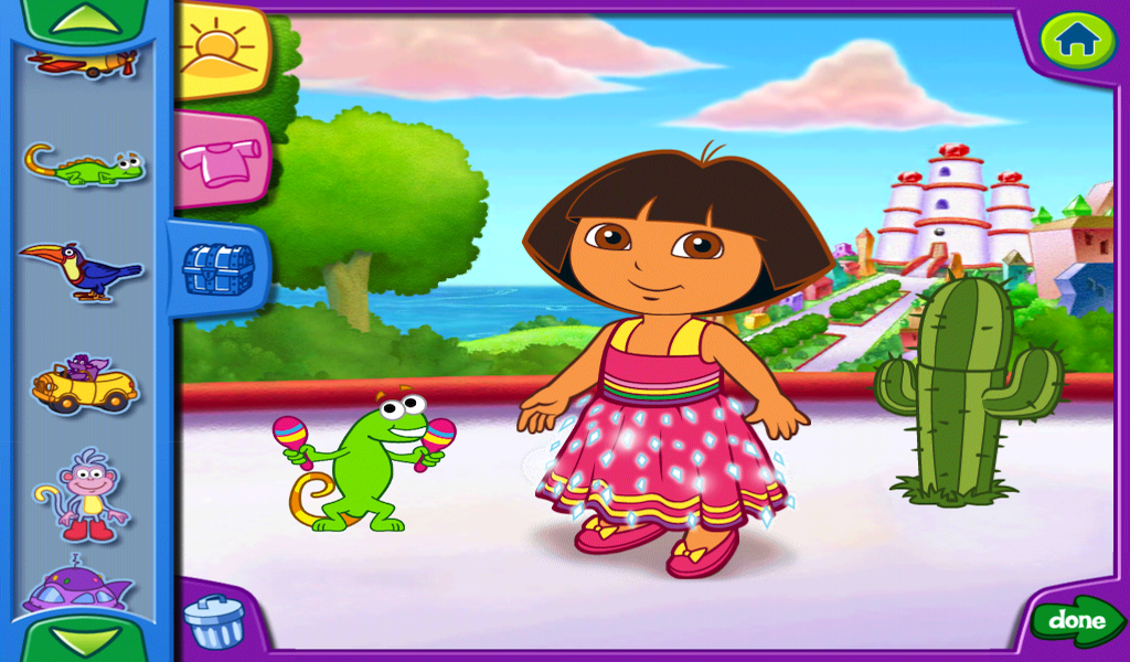 Doras dress up adventures hd android apps on google play doras dress up adventures hd screenshot sciox Image collections