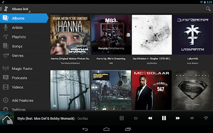 doubleTwist Player MusicPlayer Screenshot 2