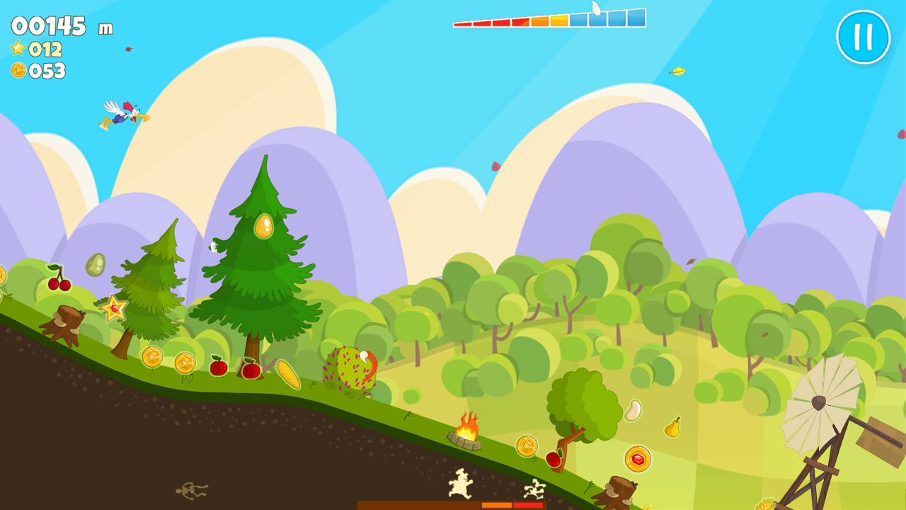 Chicken Fly! - Platform Jumper- screenshot