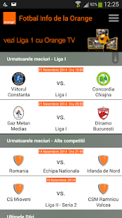 Fotbal Info de la Orange - screenshot thumbnail