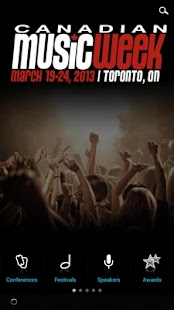 Canadian Music Week - screenshot thumbnail
