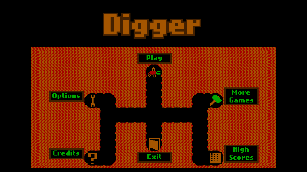 Digger- screenshot