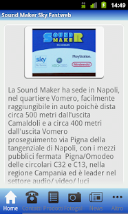 Sound Maker Sky Fastweb - screenshot thumbnail