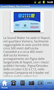Sound Maker Sky Fastweb- screenshot thumbnail