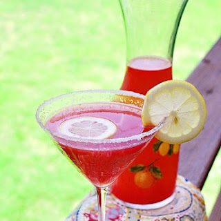Citrus Watermelon Martini