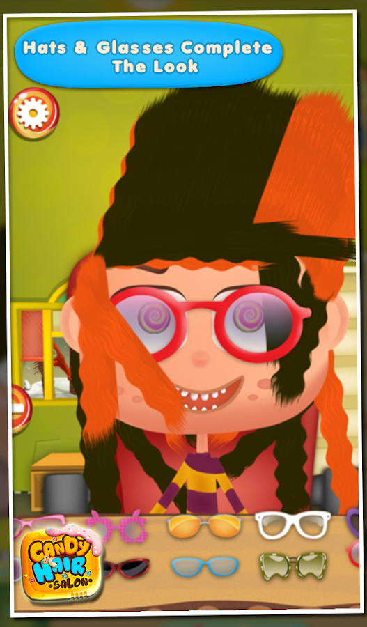Candy Hair Salon- screenshot