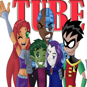 The Titans Go Cartoon Tube