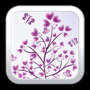 時尚簡潔愛心動態壁紙 娛樂 App LOGO-APP試玩