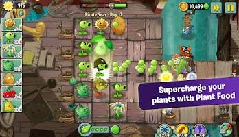 Screenshot of Plants vs. Zombies 2