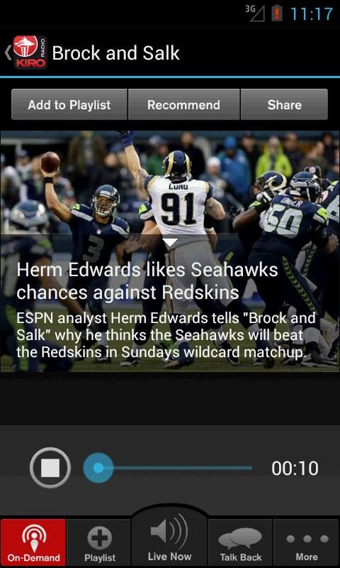 710 ESPN Seattle - screenshot