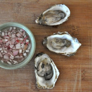 Oysters with Mignonnette Sauce