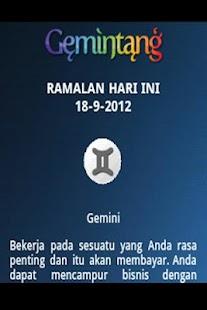 Gemintang - Ramalan Bintang- screenshot thumbnail