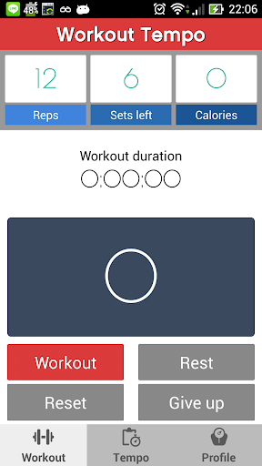 Fitness Workout Tempo