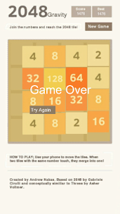 2048 Gravity - screenshot thumbnail
