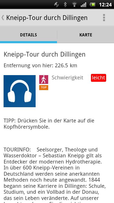 Bayerisch-Schwaben-Lauschtour - screenshot