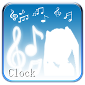 Hatsune Miku digital clock