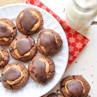 Buckeye Brownie Cookie