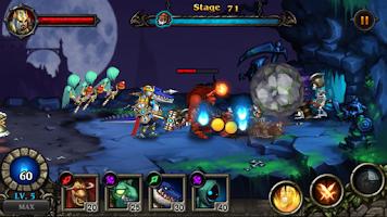 Screenshot of Hero Defense : Kill Undead