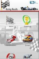 Screenshot of Racing Results 2013