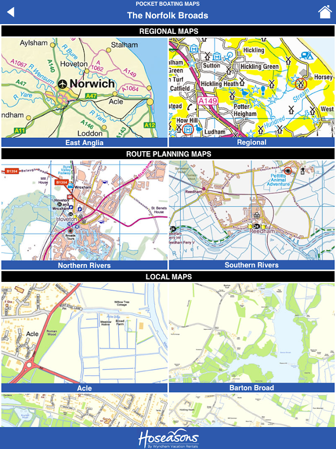 Norfolk Broads Tourist Map  Android Apps on Google Play